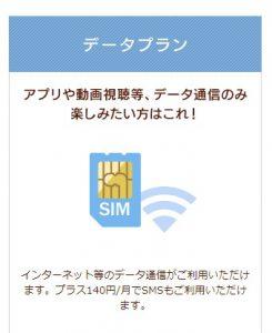 イオンモバイルデータプランの携帯料金