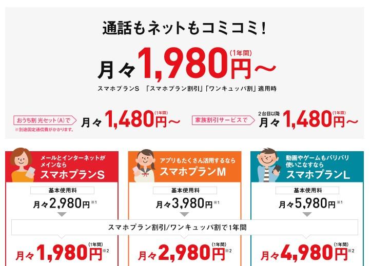 Y!mobileの料金プラン各キャリアを比較するといくら節約できるか