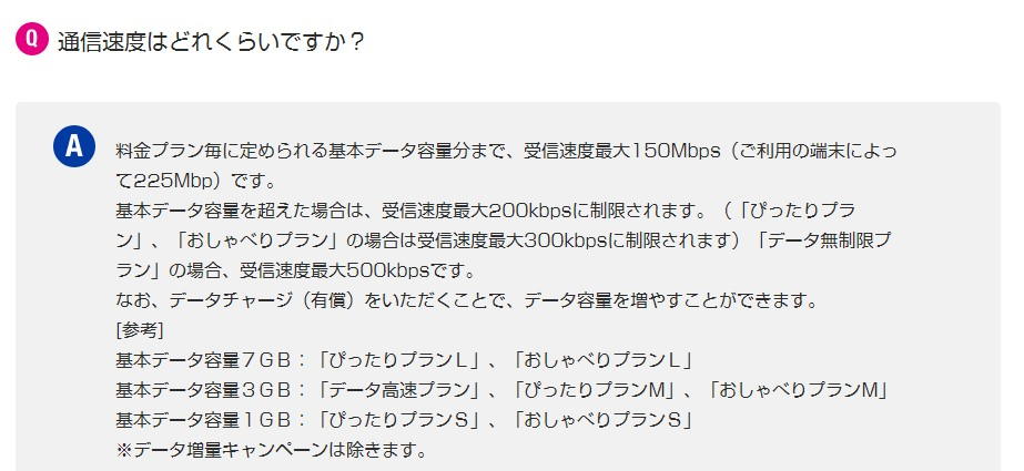 UQモバイルの通信速度の実感レポート・レビュー
